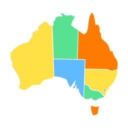 Aussie State Sticker Pack