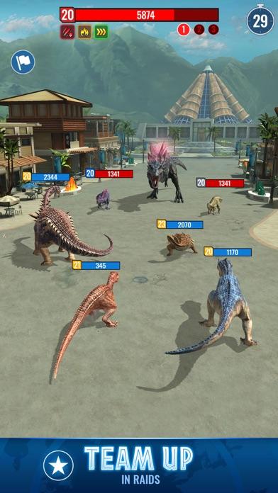 Jurassic World Alive for windows pc