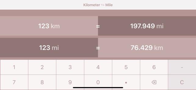 Kilometres To Miles