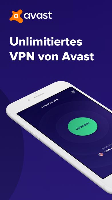 Avast Secureline VPN ProxyScreenshot von 1