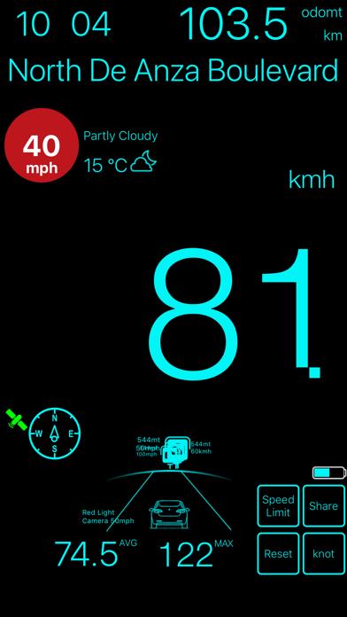 速度計mph kmh gpsベースのおすすめ画像6