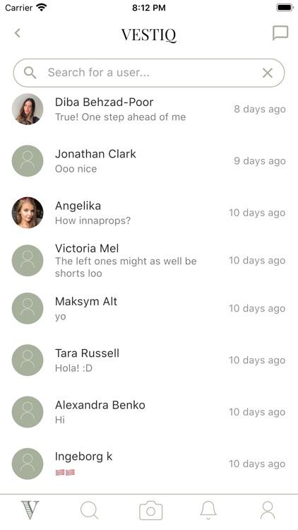 VESTIQ - Fashion advice app screenshot-9