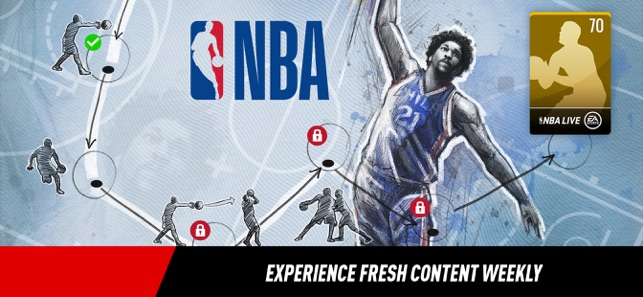 527541544 NBA LIVE Mobile Basketball on the App Store