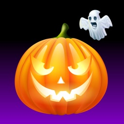 Halloween Pumpkin BOO Stickers