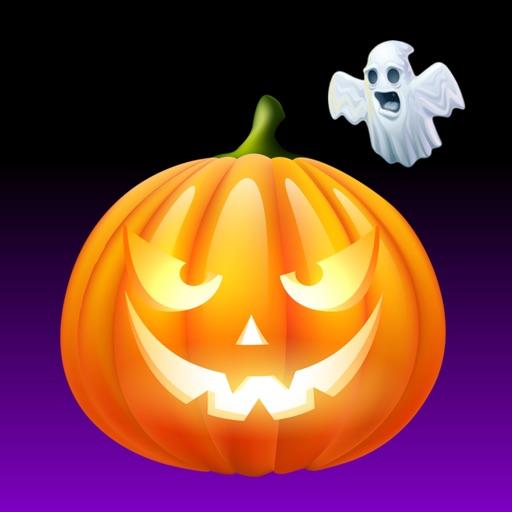 Halloween Pumpkin BOO Stickers