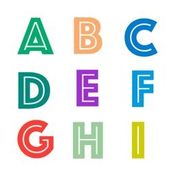 Alphabet - Apps Organizer