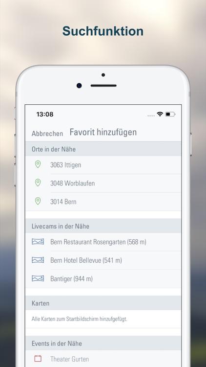 Wetter-Alarm: für die Schweiz screenshot-5