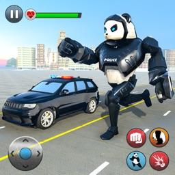 Panda Robot Transformation War