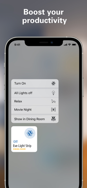 ‎Eve für HomeKit Screenshot