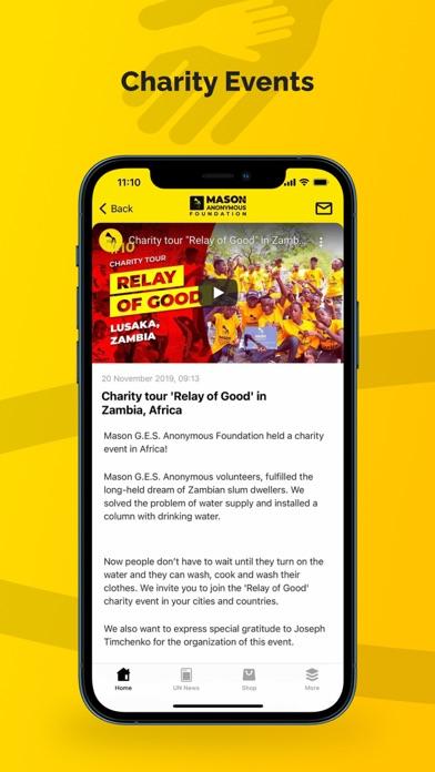 Human Rights & Charity screenshot