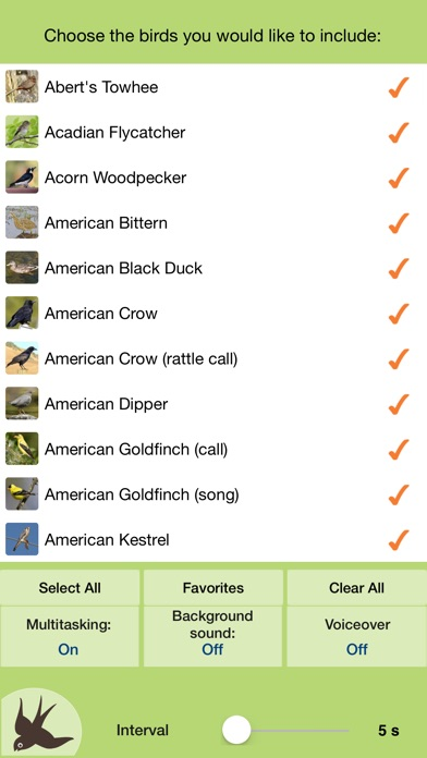 Screenshot for Chirp! Bird Songs & Calls USA in United States App Store