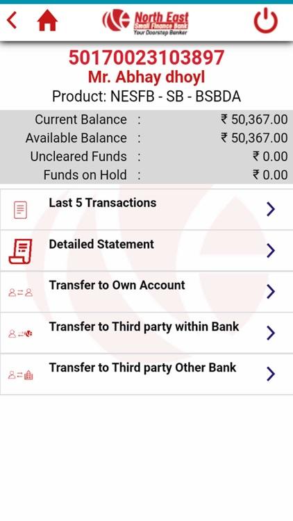 NESFB Mobile Banking screenshot-9