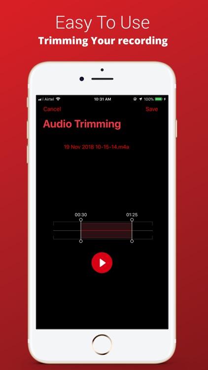Voice Recorder Plus Pro screenshot-5