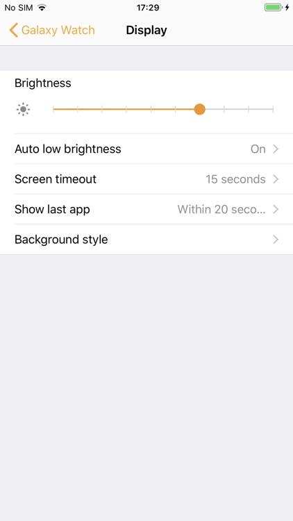 Samsung Galaxy Watch (Gear S) screenshot-8