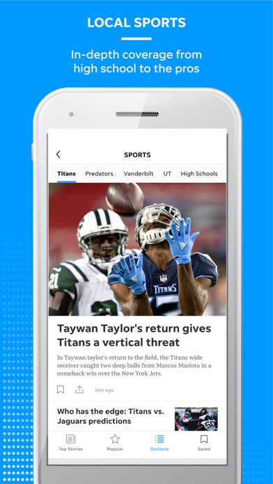 Screenshot for Tennessean in United States App Store