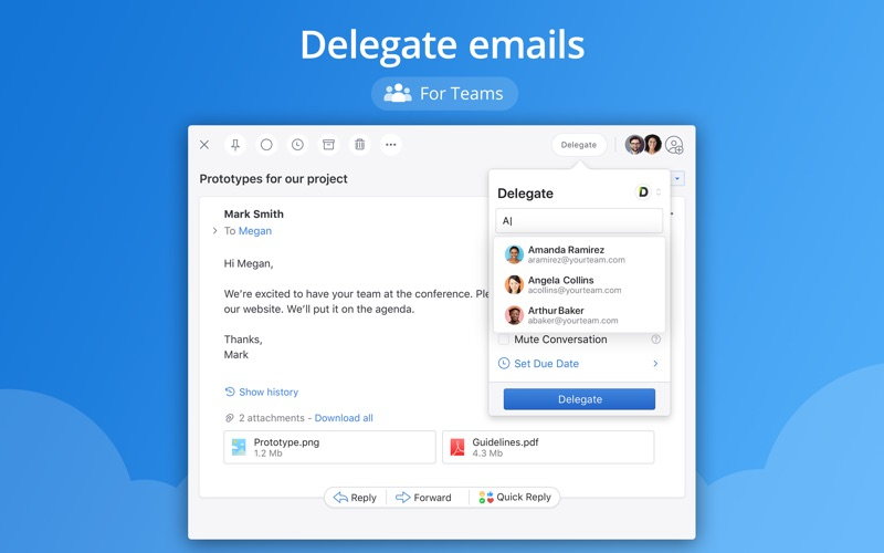 Spark - Email App by Readdle iphone images
