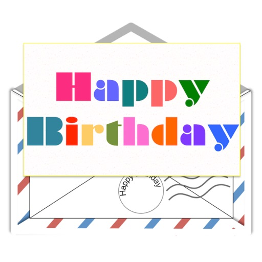 Birthday Letters Stickers