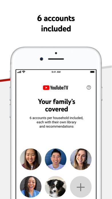 YouTube TV Screenshot