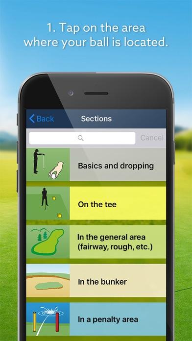 Screenshot #2 pour Expert Golf – iGolfrules