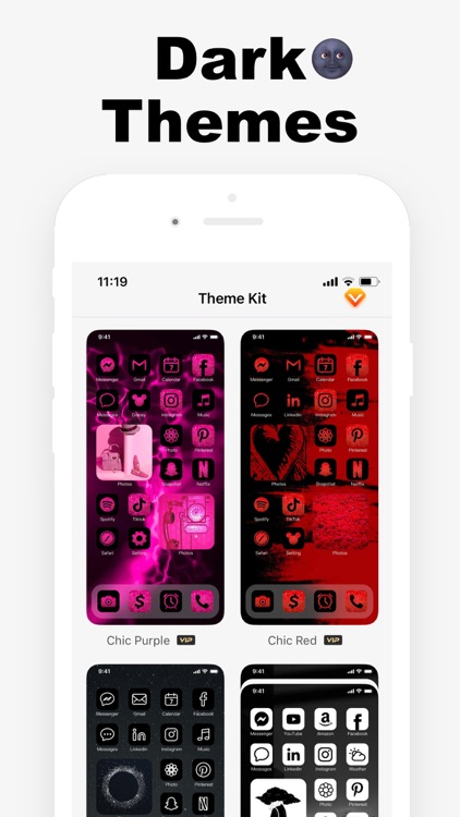 Argon - App Icons & Widgets screenshot-8