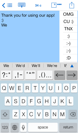 Easy Mailer English Keyboardのおすすめ画像1