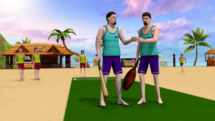 Friends Beach Cricket screenshot-4