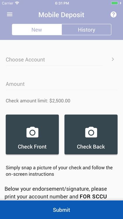 SCCU Mobile Banking screenshot-3