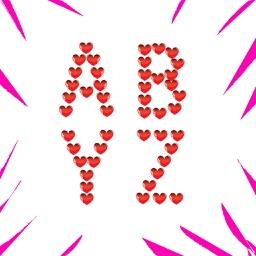 Love Alphabet Stickers