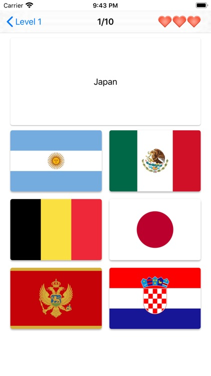 Flags of the world - Quiz screenshot-5