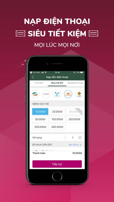 Screenshot for Ví MoMo: Nạp Tiền & Thanh Toán in Viet Nam App Store