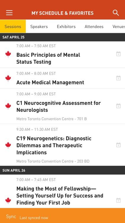 AAN Conferences screenshot-3