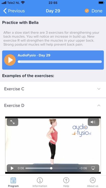 Bella's Lower Back Pain App screenshot-9