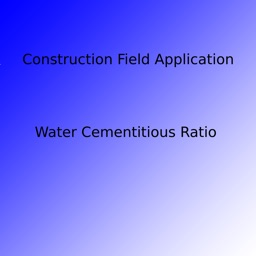 Water Cementitious Ratio