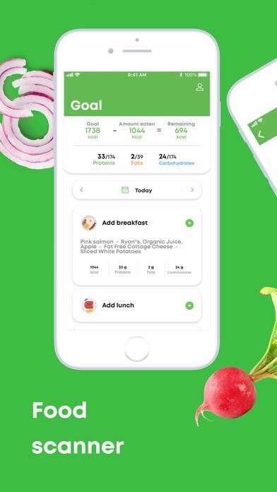 ScanFood PRO - calorie tracker screenshot 1