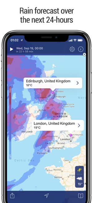 Realtime Weather Map.Weather Radar Live Forecast On The App Store