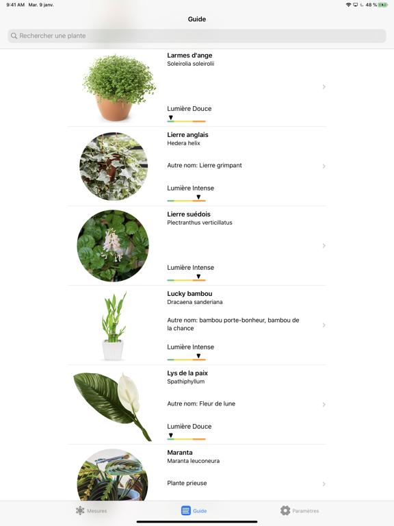 Plantes et Lumière