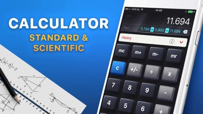 Screenshot for Calculator HD in Estonia App Store
