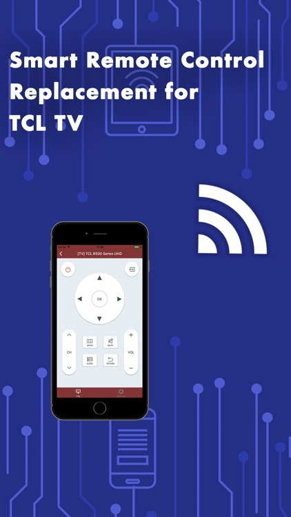 Remote Control for TCL TV PRO