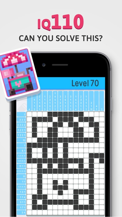Nonogram - IQ Logic Pic Puzzle screenshot-3