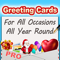App Icon for Greeting Cards App - Pro App in Luxembourg App Store
