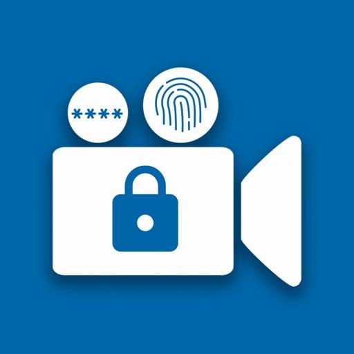 قفل وحماية الفيديوهات بالبصمة