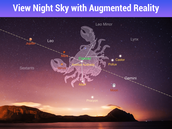 Star Walk ™ - The Astronomy Guide to View Stars, Planets & Night Sky Map screenshot