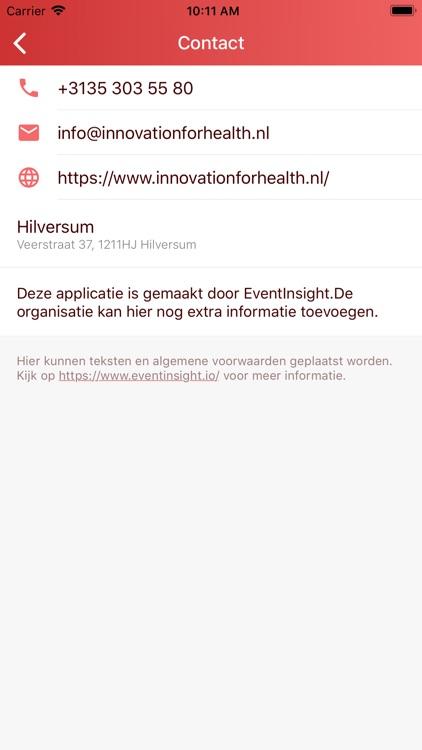 Innovation for Health 2019 screenshot-5