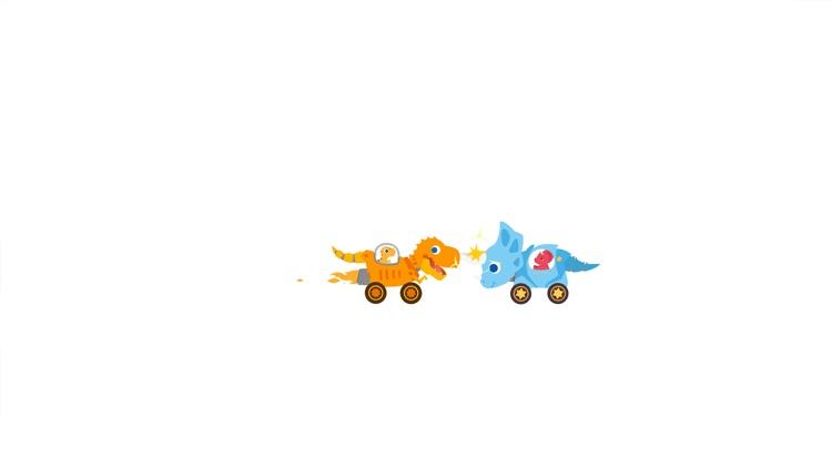 Dinosaur Smash: Bumper Cars screenshot-9