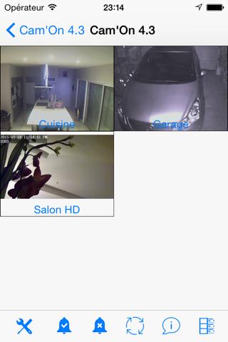 Screenshot #2 pour CamOn pour HEDEN FOSCAM
