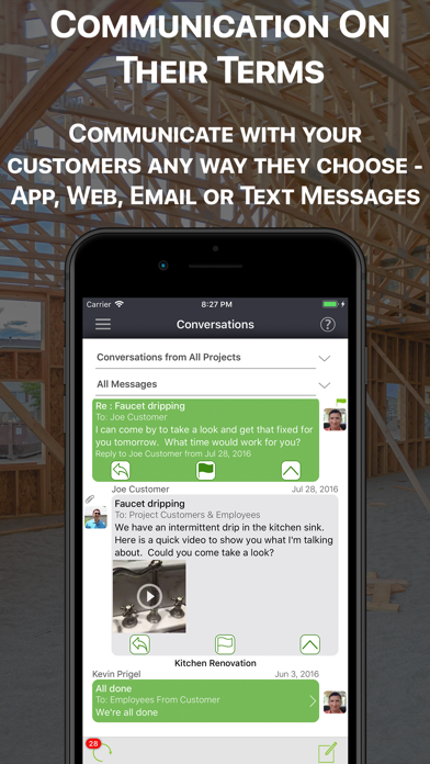 messages.download Status Recap Project Platform software
