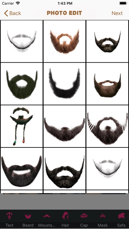 Beard Booth Photo Editor screenshot-2