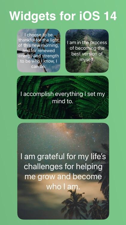 MindGarden: Daily Affirmations screenshot-9