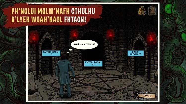 Lovecraft Quest - A Comix Game screenshot-5