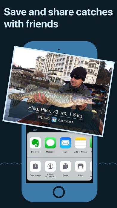 Fishing Calendar, Solunar Screenshot